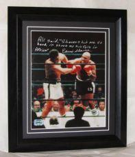 A185ES EARNIE SHAVERS SIGNED